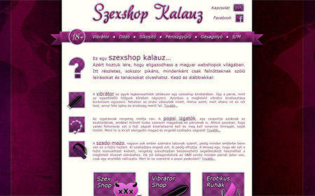 szexshop-kalauz.com screenshot